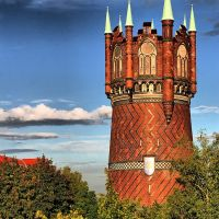 Wasserturm Rostock, Росток