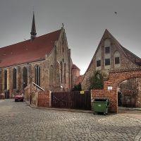 Rostock, Kloster zum Heiligen Kreuz mit Universitätskirche, Росток