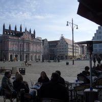Neuer Markt und Rathaus, Росток