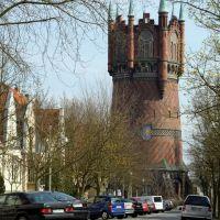 Dehmelstraße und Wasserturm, Росток