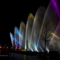 Schwerin - spektakuläre Wasserspiele, Шверин