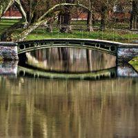 Brücke im Schlosspark, Шверин