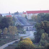 Westtangente Bautzen aus Richtung Süden September 2011, Баутцен