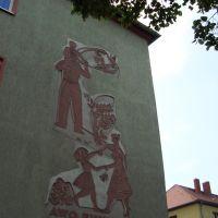 AWG Einheit - sozialistischer Realismus | socialistisch realisme | socialistic realism, Баутцен