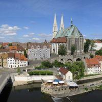 Blick von der Dreiradenmühle, Герлиц