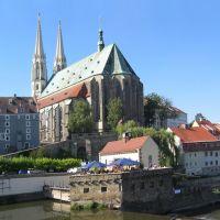 Görlitz, St. Peter und Paul mit Vierradenmühle, Герлиц