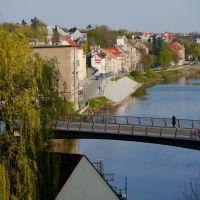 Görlitz, Blick nach Zgorzelec (Polen), Герлиц