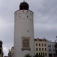 Der Dicke Turm (Frauenturm) am Marienplatz in Görlitz, Герлиц