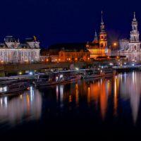 Lichter der Stadt. / Lights of the city., Дрезден