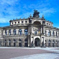 Drezno - Semperoper (Opera Sempera), Дрезден