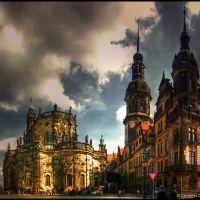 Hinter dem Katholischen Kirche (HDR), Дрезден