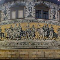 Fürstenzug, El Desfile de los Príncipes, Дрезден