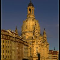 Golden light over Dresden {by a.r.}, Дрезден