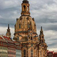 Die Frauenkirche, Дрезден