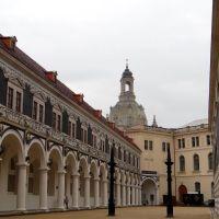 Dresden - Residenzschloss, Stallhof, Дрезден