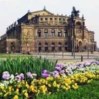 Semperoper Dresden, Дрезден