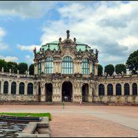 Zwingers, Innere Altstadt, Drážďany, Nemecko, Дрезден