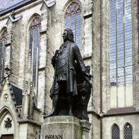Johann-Sebastian-Bach-Denkmal an der Leipziger Thomaskirche, Лейпциг