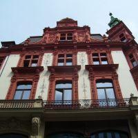 Leipzig ★2010★ Klingerhaus ♦ Detail, Лейпциг