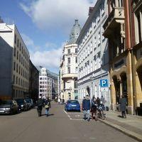 Die Ritterstrasse, Лейпциг