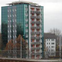 Hochhaus am Oberen Bahnhof in Plauen, Плауэн