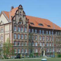 Fiedlerstr., Kemmlerschule, Плауэн