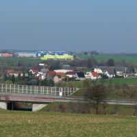 """Blick auf Deutschenbora """"Oberdorf""""1, Радебюль"""