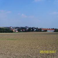 Blick auf Hirschfeld, Радебюль