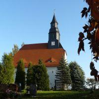 Kirche in Hirschfeld, Риса