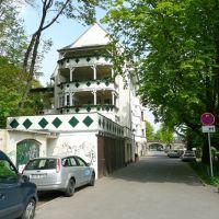 Chemnitz - Fabrikstraße mit denkmalgeschütztem Wohnhaus, Хемниц