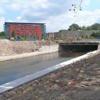 Chemnitz - Ein Fluss kommt ans Tageslicht, der Deckel über der Chemnitz wird entfernt, Хемниц