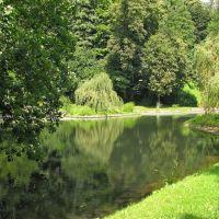 Chemnitz - Kleiner Teich im Stadtpark, Хемниц