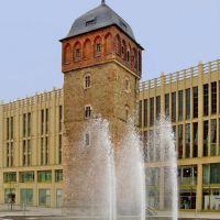Chemnitz - Der Rote Turm wird gewaschen, Хемниц