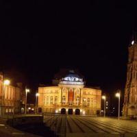 Theaterplatz nachts 180°, Хемниц