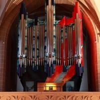 Orgelempore der Schlosskirche, Chemnitz, Хемниц