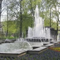 Fontänenbrunnen, Хемниц