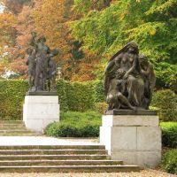 Schillingsche Figuren: Nacht (vorn) und Mittag, Хемниц