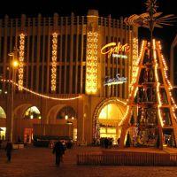 Weihnachtspyramide auf dem Markt, Хемниц