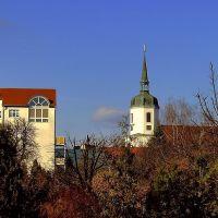 Blick auf die Johanneskirche, Хойерсверда