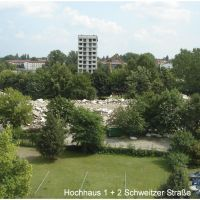 Hochhaus 1+2 Schweitzer Straße, Хойерсверда