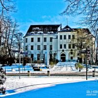 Schloß Hoyerswerda im Winter, Хойерсверда