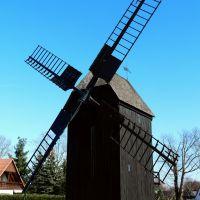 Germany_Saxony_Lausitz_Hoyerswerda-Doergenhausen_post windmill_P1310591.JPG, Хойерсверда