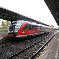 Zug am gleis, Бернбург