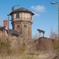 alte Bahnanlage, Бернбург