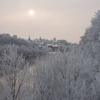 Winterimpression, Бернбург