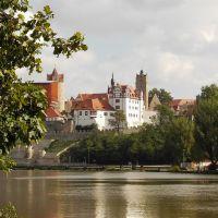 Schloss Bernburg über der Saale, Бернбург