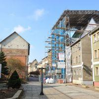 Baustelle Schützhaus Weißenfels im März 2011, Вейссенфельс