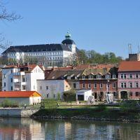 """Weißenfels an der Saale mit Schloss Neu-Augustusburg und """"Stadtbalkon"""" [2010], Вейссенфельс"""