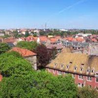 Blick vom Turm des Goethegymnasiums [2001], Вейссенфельс
