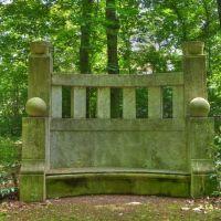 Feldherrenbank im Klemmberg Park WSF gewidmet den Generälen Blücher und Seydlitz, Вейссенфельс